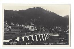 28128 - Leysin Le Grand Viaduc Train - VD Vaud