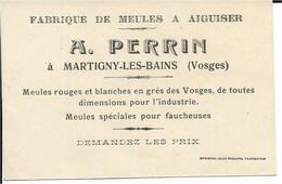 88 - Vosges - Martigny Les Bains - Fabrique De Meulrs à Aiguiser - Non Classificati