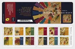 France Frankreich  MNH ** 2021 In The Circle Vassily Kandinsky - Stamp Bookle - Neufs