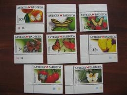 Antigua MNH 1988 Butterflies - Antigua And Barbuda (1981-...)