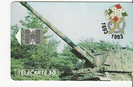 Télécarte - Royal Artillerie - 1693-1993 - Army