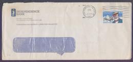 USA United States Postal History Cover On Aviation Pioneer- Used 12.9.1989 - Cartas
