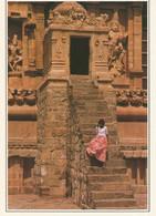CPSM, Inde,N°XV- A4, Tanjore ,Brihaddishvara Temple ,Ed. SA. Service - Inde
