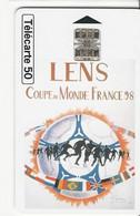 Télécarte - Lens - Coupe Du Monde France 98 - Deportes