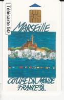 Télécarte - Marseille - Coupe Du Monde France 98 - Deportes