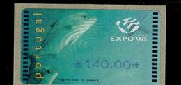18 (1) EXPO 98 ** Postfrisch, MNH, Neuf - Automatenmarken (ATM/Frama)