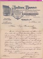 """262088 /  Germany 1913 Berlin """" Julius Busse """" Fahrrader Nähmaschinen Und Musik Werke , Deutschland Allemagne - 1900 – 1949"""