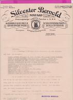 262090 /  Serbia Novi Sad N.H.S. , Beograd - Silvester Bernold , Schlosserwaren U. Rollofabrik Serbien Serbie Servie - Autres