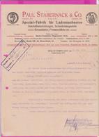 262094 / Germany 1914 Berlin - Paul Stabernack & Co. Spezialfabrik Für Ladeneinbauten , Geschäftseinrichtungen - 1900 – 1949
