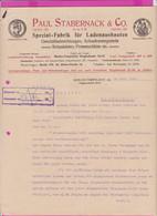 262093 / Germany 1914 Berlin - Paul Stabernack & Co. Spezialfabrik Für Ladeneinbauten , Geschäftseinrichtungen - 1900 – 1949