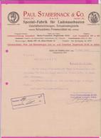 262096 / Germany 1914 Berlin - Paul Stabernack & Co. Spezialfabrik Für Ladeneinbauten , Geschäftseinrichtungen - 1900 – 1949