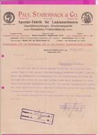 262098 / Germany 1914 Berlin - Paul Stabernack & Co. Spezialfabrik Für Ladeneinbauten , Geschäftseinrichtungen - 1900 – 1949