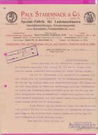 262099 / Germany 1914 Berlin - Paul Stabernack & Co. Spezialfabrik Für Ladeneinbauten , Geschäftseinrichtungen - 1900 – 1949