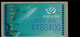 18 (4) EXPO 98 ** Postfrisch, MNH, Neuf - Automatenmarken (ATM/Frama)