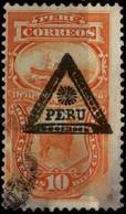 Peru 1883 Mi P18 Postage Due Stamps - Peru