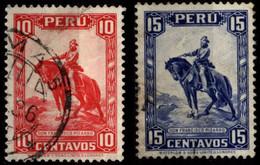 Peru 1934 Mi 289-290 Francisco Pizarro - Peru