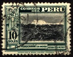 Peru 1951 Mi 477 Mt. Huascaran (2) - Peru