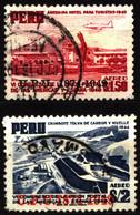 Peru 1951 Mi 487-488 75th Anniversary Of UPU - Peru