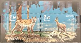 Bosnia And Hercegovina, 2021, Europa Cept Stamps, Endangered Animal Species, Block  (MNH) - Bosnia And Herzegovina