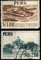 Peru 1952-53 Mi 528, 530 Nature And Culture Of Peru - Peru