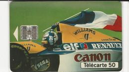 Télécarte - ELF-RENAULT - Formule 1 - Deportes