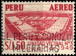Peru 1953 Mi 537 Housing-complex Nr 3 Under Construction - Peru