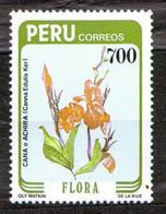 Peru 1984 Mi 1279 Peruvian Flora - Canna Edulis Ker - MNH - Peru