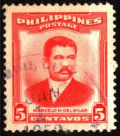 Philippines 1952 Mi 550 Marcelo Hilario Del Pilar Y Gatmaitán (1) - Philippinen