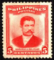 Philippines 1952 Mi 550 Marcelo Hilario Del Pilar Y Gatmaitán (2) - Philippinen