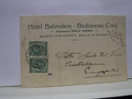 GIULIANOVA  -- TERAMO  -- HOTEL BELVEDERE  -- GIULIO  FEDERICI - Teramo