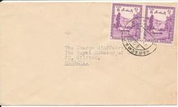 Pakistan Cover Karachi 29-5-1960 Sent To The Royal Embassy Of Denmark Karachi - Pakistan