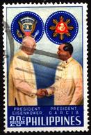 Philippines 1960 Mi 670 Dwight D. Eisenhower & García (1) - Philippinen