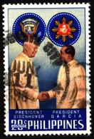 Philippines 1960 Mi 670 Dwight D. Eisenhower & García (2) - Philippinen