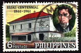 Philippines 1961 Mi 678 Rizal Birthplace At Calamba Laguna (1) - Philippinen