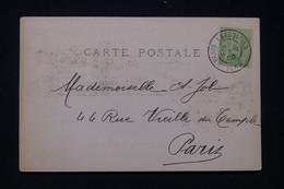 """FRANCE - Oblitération """" Paris Exposition  Iena """" Sur Postale De L 'Exposition De Paris En 1900 - L 97573 - 1877-1920: Semi-Moderne"""