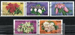 Philippines 1979 Mi 1289-1294 Philippines Mussaendas - CTO - Philippinen