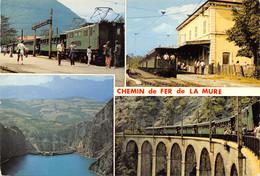 38-LA MURE-LE CHEMIN DE FER-N°T569-C/0007 - La Mure