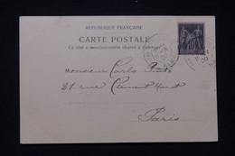 """FRANCE - Oblitération """" Paris Exposition  Alma """" Sur Postale De L 'Exposition De Paris En 1900 - L 97574 - 1877-1920: Semi-Moderne"""