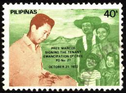 Philippines 1983 Mi A1537A Tenant Emancipation Decree - Reissue 1983 - Philippinen