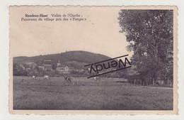 Rendeux-Haut (panorama Du Village Pris Des Fanges) - Rendeux