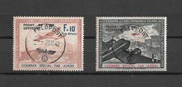 WW2 Légion Volontaires Lvf 4 Et 5 Yt Oblitérés Feldpost - Guerre