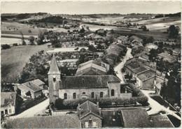 55) DOMBASLE-en-ARGONNE : Place De L'église - Vue Aérienne - Other Municipalities