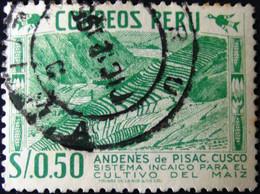 Peru - 1953 - Mi:PE 526, Sn:PE 464, Yt:PE 433 O - Look Scan - Peru