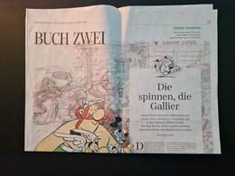 Asterix / 60. Geburtstag, Sonderteil Süddeutsche Zeitung, Okt. 2019, Gestaltet Von Didier Conrad - Unclassified