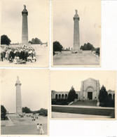 55) 4 Photographies Originales - MONTFAUCON L'ARGONNE (Ca 1950) - Autres Communes