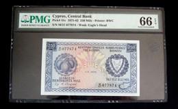 Cyprus 250 Mils 1976 Pick# 41c 1975-82 PMG 66 EPQ Gem Unc (NT#01) - Cyprus