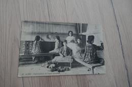 CPA  Syrie Siria Alep Fabrication De Tapis Oriental Trésors Et Postes 609 5/10/1925 - Syria