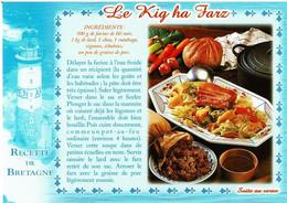 Recette De Bretagne, Phare : Le Kig Ha Farz - éditons Yca - Neuve - Recipes (cooking)