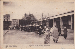 CPA RABAT LE MARCHE MUNICIPAL - Rabat
