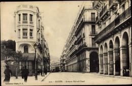 CPA Algier Alger Algerien, Avenue Bab El Oued, Straßenpartie, Boulangerie - Algiers